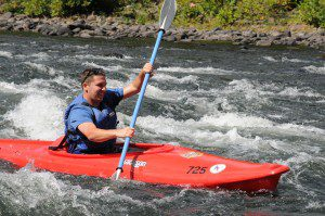 Kayaking the Mongaup Rapids