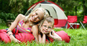 kids camping at kittatinny campgrounds