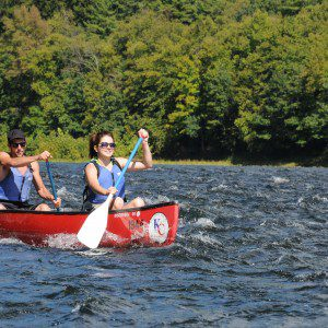 The Canoe and the Delaware were made for each other