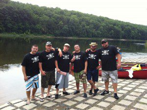 Annual Overnight 28 mile paddle