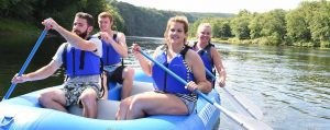 Rafting the Delaware River