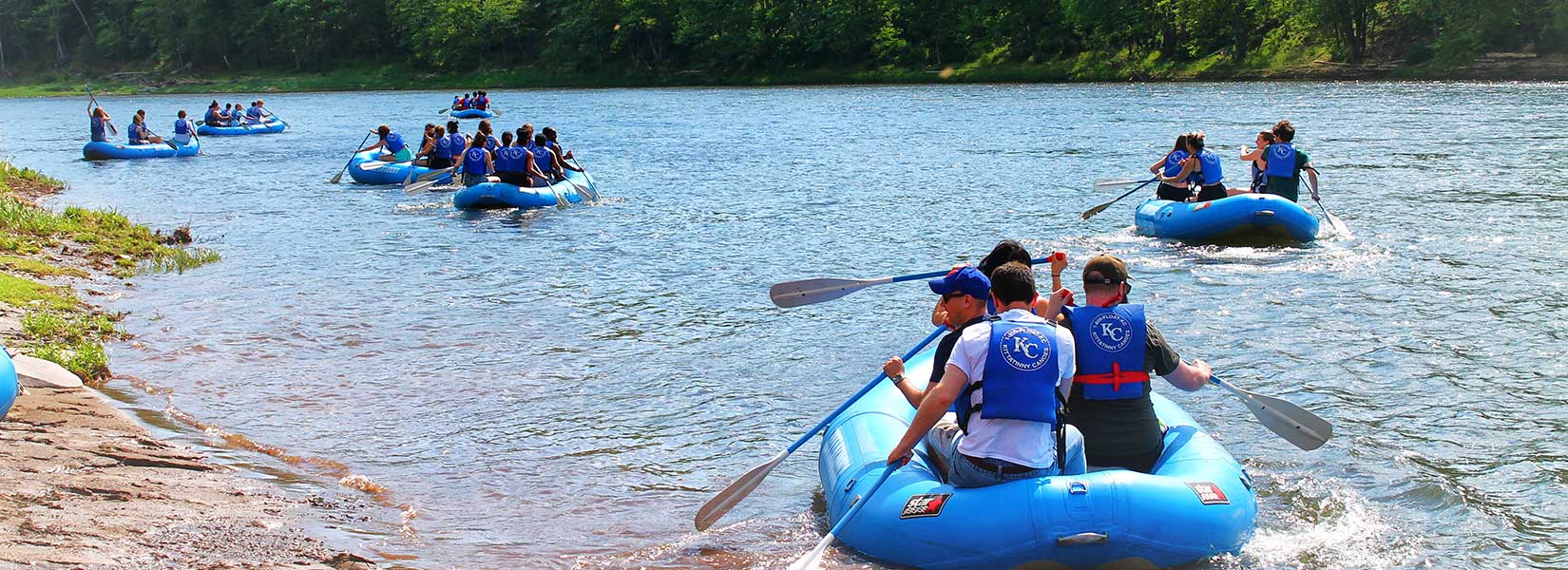 Rafting on the Deleware River